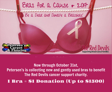 Bras for a Cause 2017 Counting Party